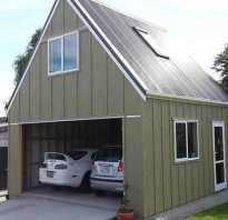 Строительство гаража с мансардой своими руками каркасный
