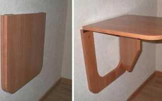 Как сделать столешницу на балкон своими руками