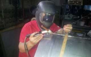 Аргонодуговая сварка алюминиевых труб