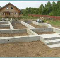 Фундамент теплицы из бетона своими руками