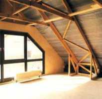 Как из обычной крыши сделать мансарду