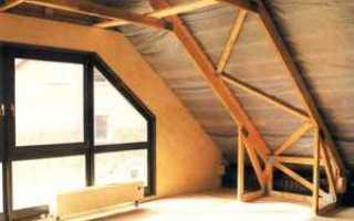 Строительство крыши дома с мансардой своими руками