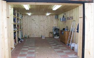 Бетонный потолок в гараже своими руками