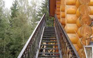 Как сделать лестницу своими руками крыша