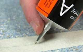 Клей сварка для линолеума применение