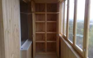 Балкон как сделать полку на балконе