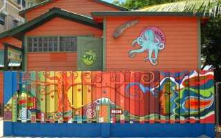 В какой цвет покрасить деревянный забор для дачи