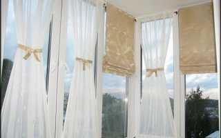 Шторы окно балконом своими руками