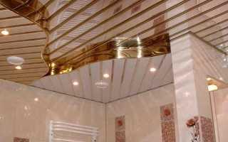 Ютуб потолок в ванной своими руками видео