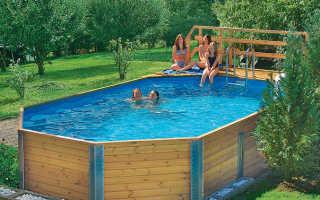 Бассейн в деревянном доме своими руками