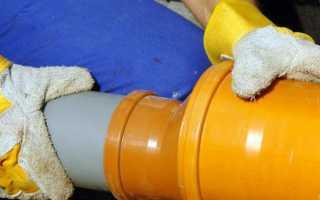 Что находится в трубах в канализациях