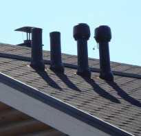 Устройство вентиляции на крыше своего дома