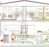 Электро водяное отопление в частном доме своими руками схема