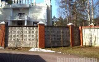 В какой цвет можно покрасить забор бетонный