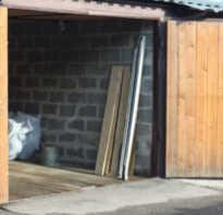 Ширина фундамента под гараж из керамзитоблоков