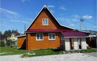 Из чего сделать фронтон крыши мансарды