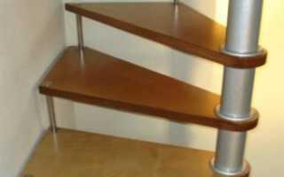 Видео как сделать винтовую лестницу своими руками видео