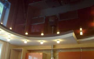 Видео натяжные потолки в два уровня своими руками