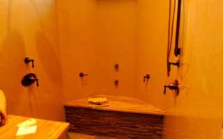 Баня печь помывочная горячая вода