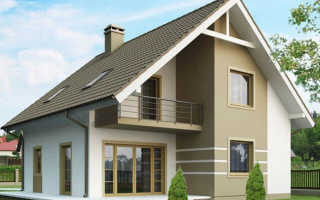 Мансарда двускатная крыша дома своими руками