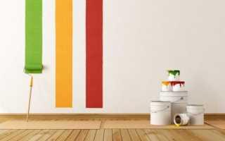 Как покрасить стены в квартире своими руками водоэмульсионной