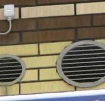 Устройство вентиляции в частном доме в стене