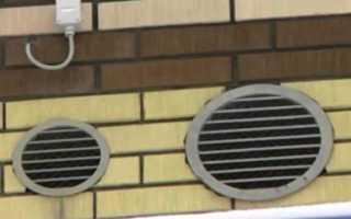 Вентиляция в деревянном доме диаметр трубы