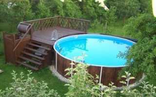 Из чего можно сделать лестницу для бассейна