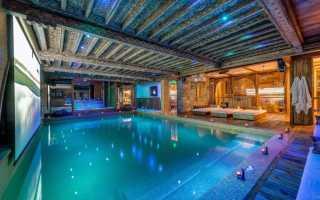 Дизайн бассейна в частном доме своими руками