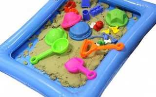 Если песочницу сделать из надувного бассейна