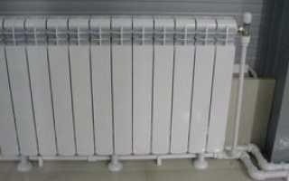 Алюминиевые радиаторы отопления сколько квт одна секция