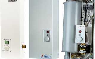 Электрокотел для отопления дома эван 6 квт