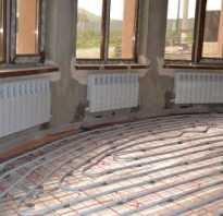 Схема отопления теплого пола без радиаторов