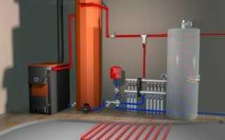 Аккумулятор системы отопления в частном доме схема