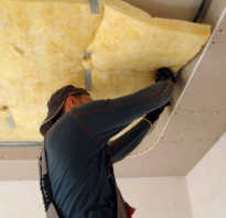 Шумоизоляция для потолка квартиры своими руками