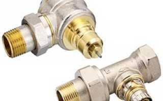 Автоматический балансировочный клапан для системы отопления danfoss