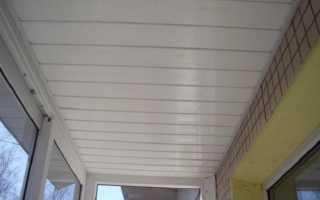 Как сделать гипсокартон на потолок на балконе