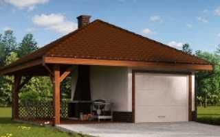 Построить гараж с мансардой из пеноблоков своими руками