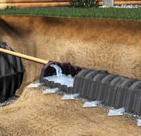 Частный дом канализация из металлической емкости