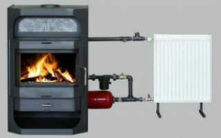 Автоматический дровяной котел для отопления частного дома