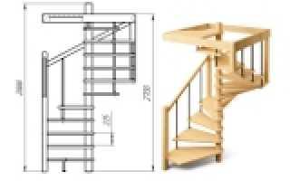 Как сделать лестницу на второй этаж своими руками размеры