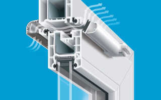 Вентиляционный клапан для окон своими руками