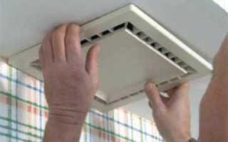 Устройство вентиляции в частном доме ванной