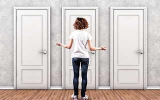 Как сделать старую межкомнатную дверь красивой