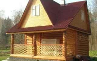Как сделать крышу на сруб дома 6 на 6 с мансардой