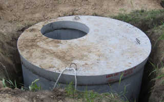 Яма под канализацию для частного дома