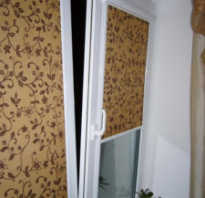Установка рулонных штор своими руками на стену