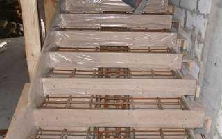Армирование лестницы из бетона своими руками