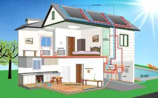 Электрическое отопление частного двухэтажного дома схемы подключения