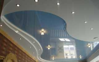 Волнистый потолок из гипсокартона своими руками